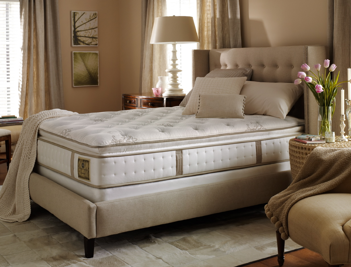 Stearns Foster Estate Mattress Latrice Luxury Plush Innerspring Mattress By Stearns ...