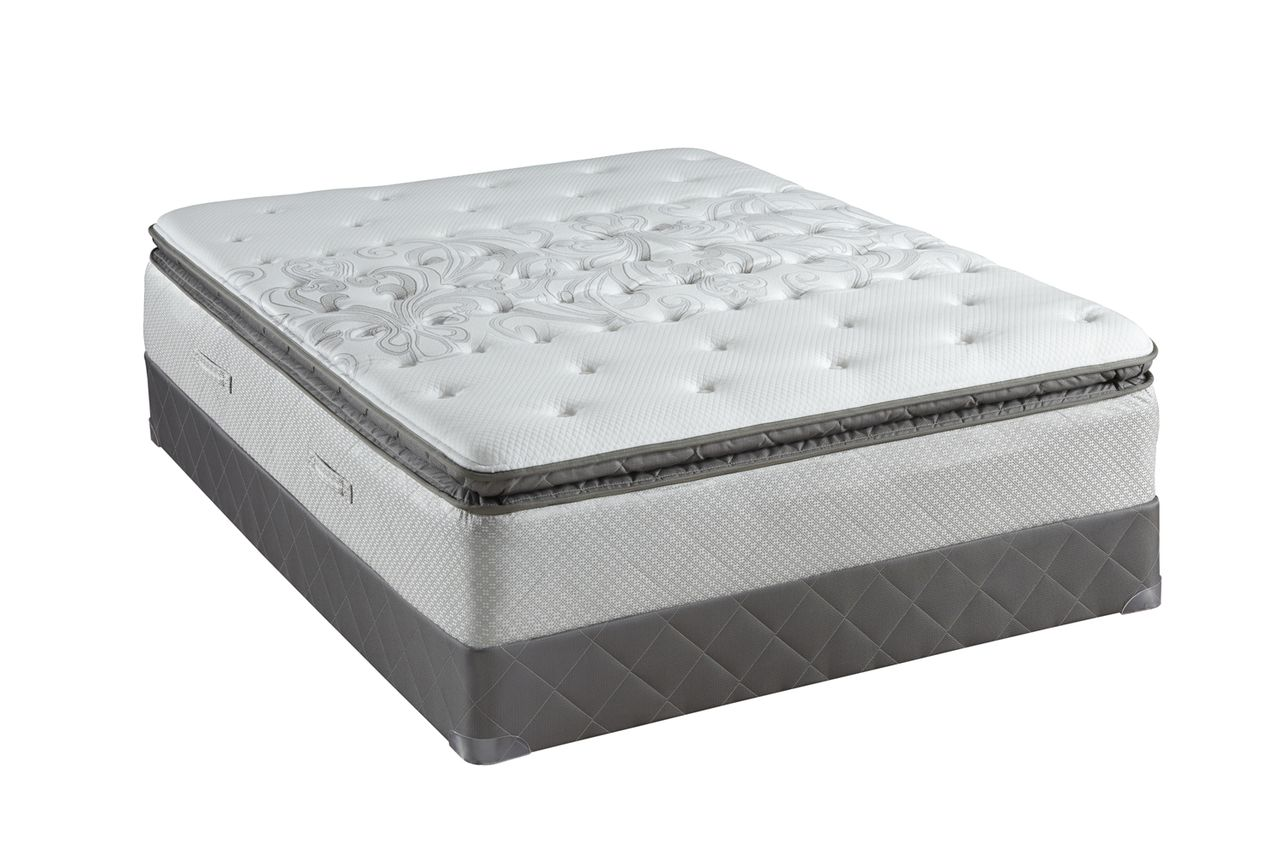 sealy posturepedic gel series cushion firm euro pillow top sealy ...