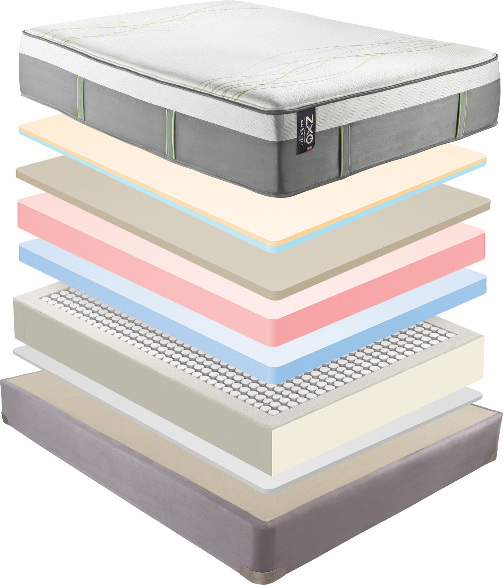 Hybrid Mattress Beautyrest Platinum