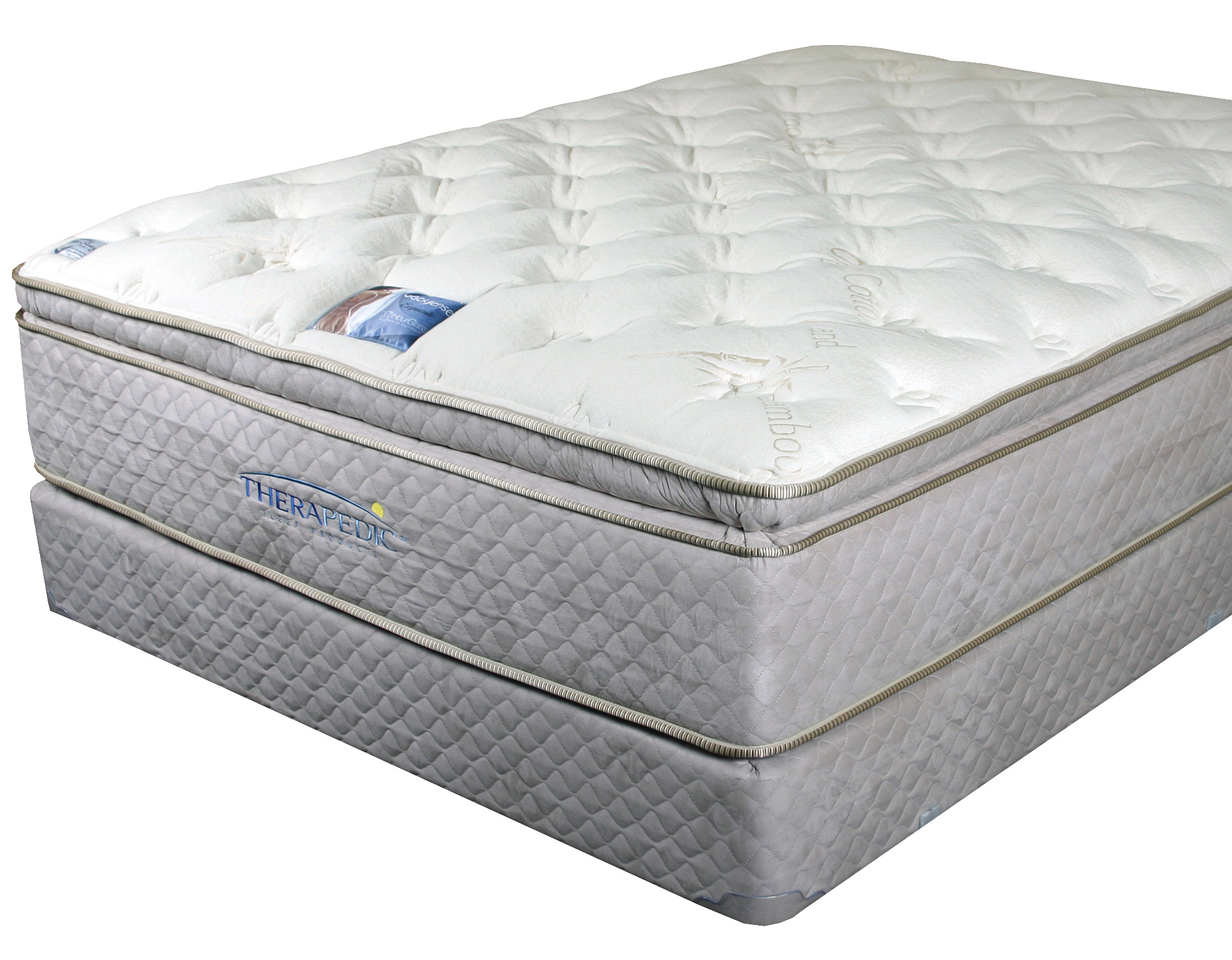 X Therapedic Backsense Elite Plush Latex Pillow Top