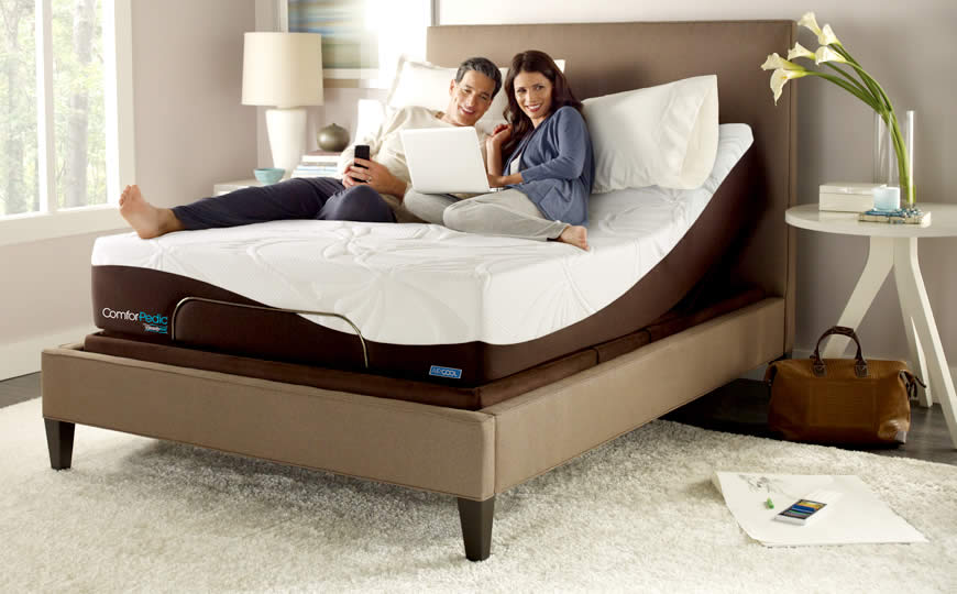 Simmons Comforpedic Mattresses Free Nationwide Delivery